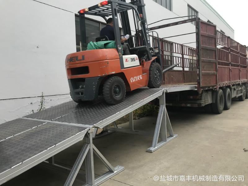 上海载重10吨仓储轨道山阴登车桥设备哪家便宜