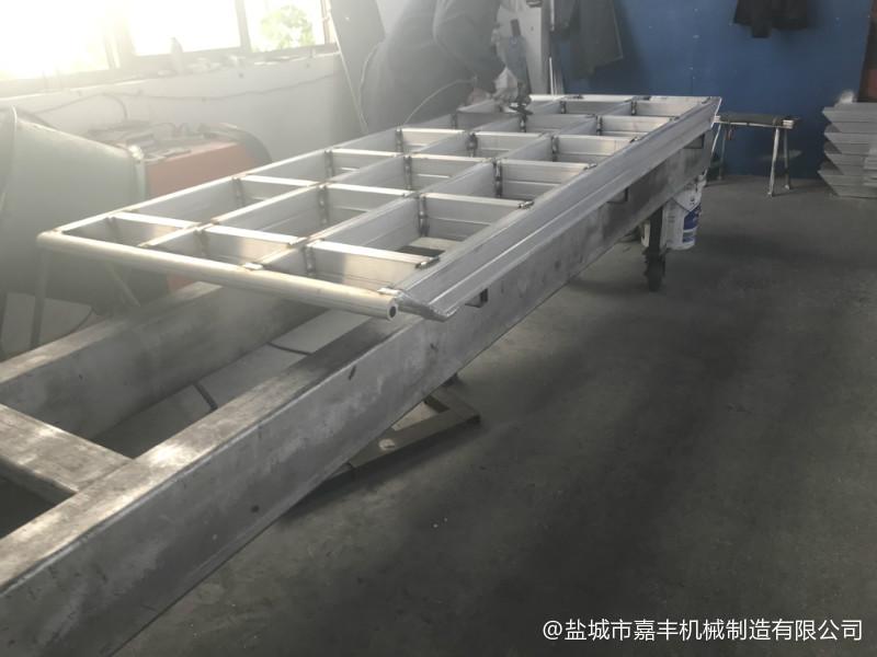 北京载重10吨站台固定式铝合金登车桥免费咨询【金质服务】