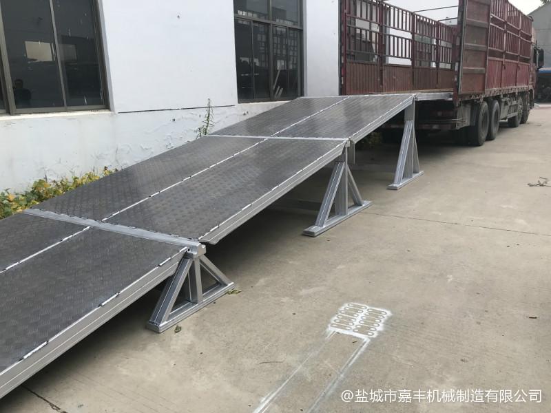甘肃载重10吨仓储轨道山阴登车桥系列